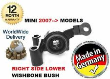 FOR BMW MINI R59 COPPER S DIESEL 2011--  NEW RIGHT SIDE LOWER WISHBONE BUSH