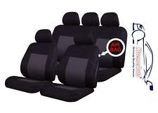 9 Pce tradicional Ealing diseño conjunto completo de alquiler de cubiertas de asiento Renault Clio Megane
