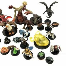 Lot 10 Dungeons & Dragons Pathfinder spider D&D different miniatures figure M251