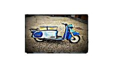 1959 Puch 150 Bike Motorcycle A4 Retro Metal Sign Aluminium