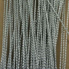 100M x Silver Card Craft Gift Cord - String Approx 1mm Gift Tag Thread