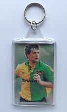 Manchester United 1990's Mark Hughes Keyring Newton Heath