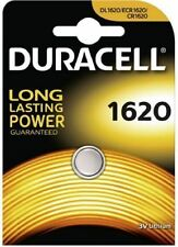 1 x Duracell CR1620 3V Lithium Button Coin Cell Battery 1620 DL1620 BR1620 ECR16