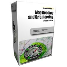 MAP READING ORIENTEERING NAVIGATION TRAINING STUDY COURSE MANUAL ON CD