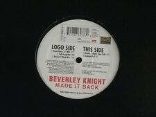"BEVERLEY KNIGHT - MADE IT BACK - 12"" PROMO NEAR MINT DANCE FACTORY EMI ITALY"
