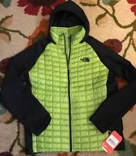 NWT Men's The North Face Thermoball Hybrid Insulated Green Jacket Large $180