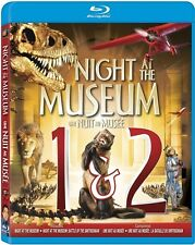 NIGHT AT THE MUSEUM 1 & 2 New Sealed Blu-ray Double Feature Ben Stiller