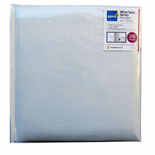 "White Satin Photo Album with Memo Space - 200 Photos 6"" x 4"" (KD152) UK Stock"