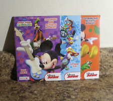 Disney Mickey Mouse Clubhouse Coloring And Activity Pad Set of 3 Pack NEW