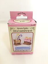 1999 Japan Sylvanian Families (Calico Critters US) Umbrella & Shoe Rack in Box