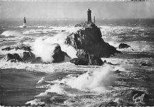 BR57559 Pointe du raz de sein tempete sur le phare de la vieille lighthouse phar