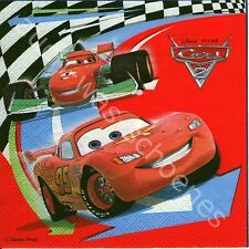 6 Servietten Napkins Disney Cars - Autos - Comic - di030
