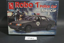 AMT NOS SEALED ROBO 1 POLICE CAR ROBOCOP 2 1/25 RARE VINTAGE KIT 261