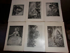 Lot of 50 The Perry Pictures Prints, Many Religious Scenes