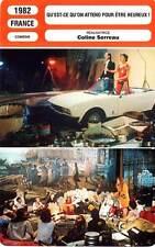 FICHE CINEMA : QU'EST CE QU'ON ATTEND POUR ETRE HEUREUX ? Alane,Serreau 1982