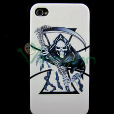 Custodia cover Halloween DEATH per Apple iPhone 4 4G
