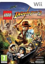 LEGO Indiana Jones 2: The Adventure Continues Nintendo Wii PAL COMPLETE