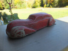 Vintage Antique Sun Rubber Co Streamline Art Deco Look Toy Car - Issues
