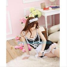Hot Sexy Lingerie French Maid Cosplay Costume Lolita Servant Fancy Dress Uniform