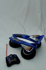 TYCO 27 MHz RC BLUE AIRBLADE HOVERCRAFT + REMOTE