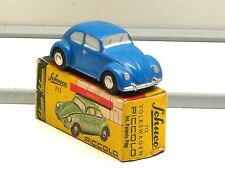 Schuco Piccolo 712 Volkswagen VW Käfer blau in Box