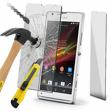 Genuine Premium Tempered Glass Flim Screen Protector for Sony Xperia SP