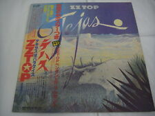 POSTER ZZ TOP-Tejas JAPAN 1st.Press w/OBI AC/DC Foghat Kiss Aerosimith Blackfoot