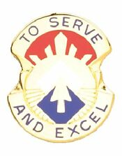 0096 Army Reserve Command Unit Crest (To Serve And Excel)