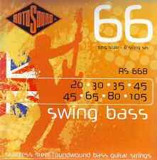 ROTOSOUND RS668 STAINLESS STEEL ROUNDWOUND 8 STRING BASS GUITAR STRINGS 20-105