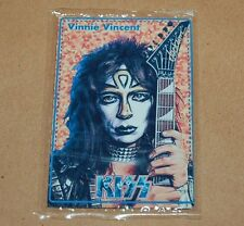 KISS Vinnie Vincent METAL CARD SEALED COLLECTIBLE RARE TOY ARGENTINA