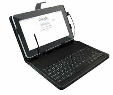 "10.1"" USB Keyboard PU Leather Case Cover For Toshiba Thrive AT100 AT105 Tablet"
