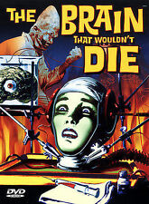 The Brain That Wouldnt Die DVD. Sealed/New. Look Look Look!!!!!! Free Shipping!!