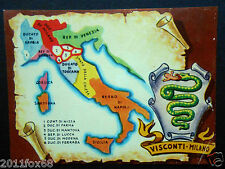figurines cromos figurine le regioni d'italia ieri e oggi 15 signorie visconti m