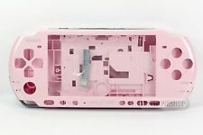 Pink Housing Faceplate Case Cover for PSP 3000 Slim