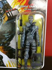 HASBRO G.I. JOE SABOTEUR FIREFLY 2008 ACTION FIGURE