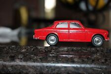 DINKY TOYS  #184 Volvo 122 S ... Spun hubs ...rare car in stunning red