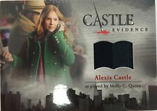 CASTLE Seasons 1 & 2 Cryptozoic : Molly C. Quinn ALEXIS CASTLE M02 Wardrobe