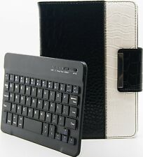 Crocodile Style Detachable Rotating Bluetooth Keyboard Case Apple iPad Mini 2