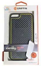 Griffin GB40054 Identity Graphite Case for Apple iPhone 6 Plus - Black/Yellow