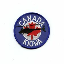 RCAF CAF Canadian Kiowa Helicopter Colour Crest Patch