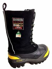 Dakota Composite Toe Black Winter Safety boots Women's Size US.7 Mens US. 6