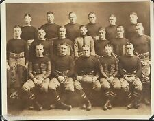 Large team photo 1922 Army West Point Black Knights Football Team Navy game ball
