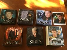 Angel Season 1, 2, 3, 4, 5 Trading Card Set Binders Autographs Pieceworks Spike