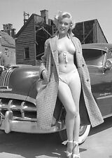 Marilyn Monroe photo Sexy Voluptuous Movie Star, Bra Bikini Ponitac 1950s
