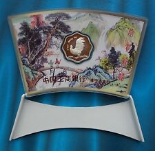 Shanghai Mint:2005 China silver lunar Rooster Plum-blossom-shape China coin