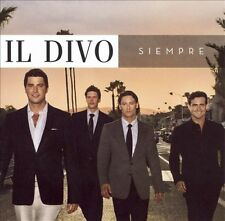 IL DIVO-SIEMPRE CD NEW  - includes 2 Extra Tracks