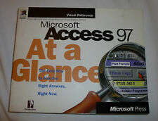 Microsoft Access 97 at a Glance, ISBN: 1572313692