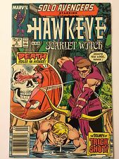 SOLO AVENGERS STARRING HAWKEYE AND SCARLET WITCH #5 (Apr 1988, Marvel Comics)