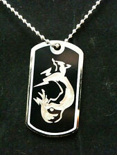 Metal Gear Solid FoxHound Dog Tag Necklace Handmade,video game,mgs,SFG,kojima