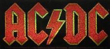 "AC/DC AUFKLEBER / STICKER # 54 ""LOGO GLITZER"" - PVC - WETTERFEST"